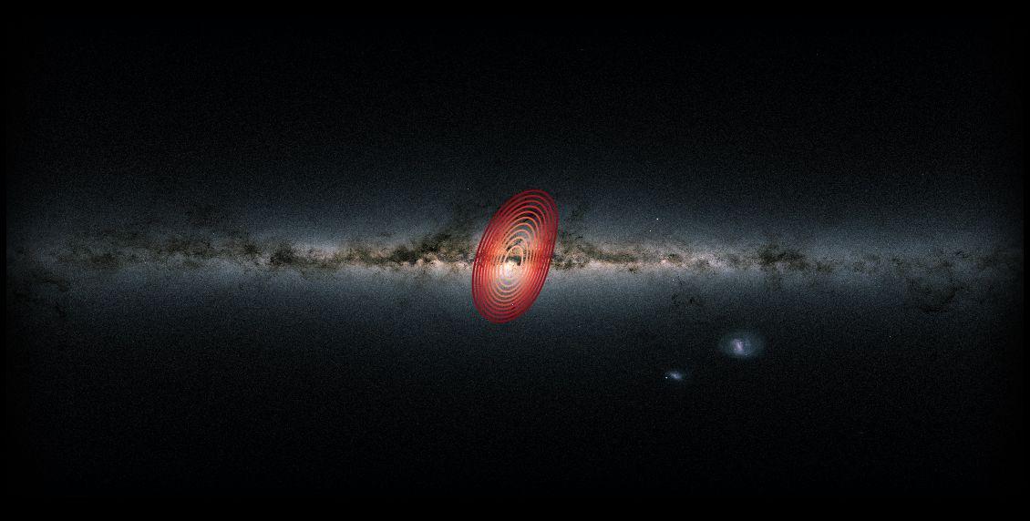 Descubren una galaxia fósil escondida en la Via Lactea