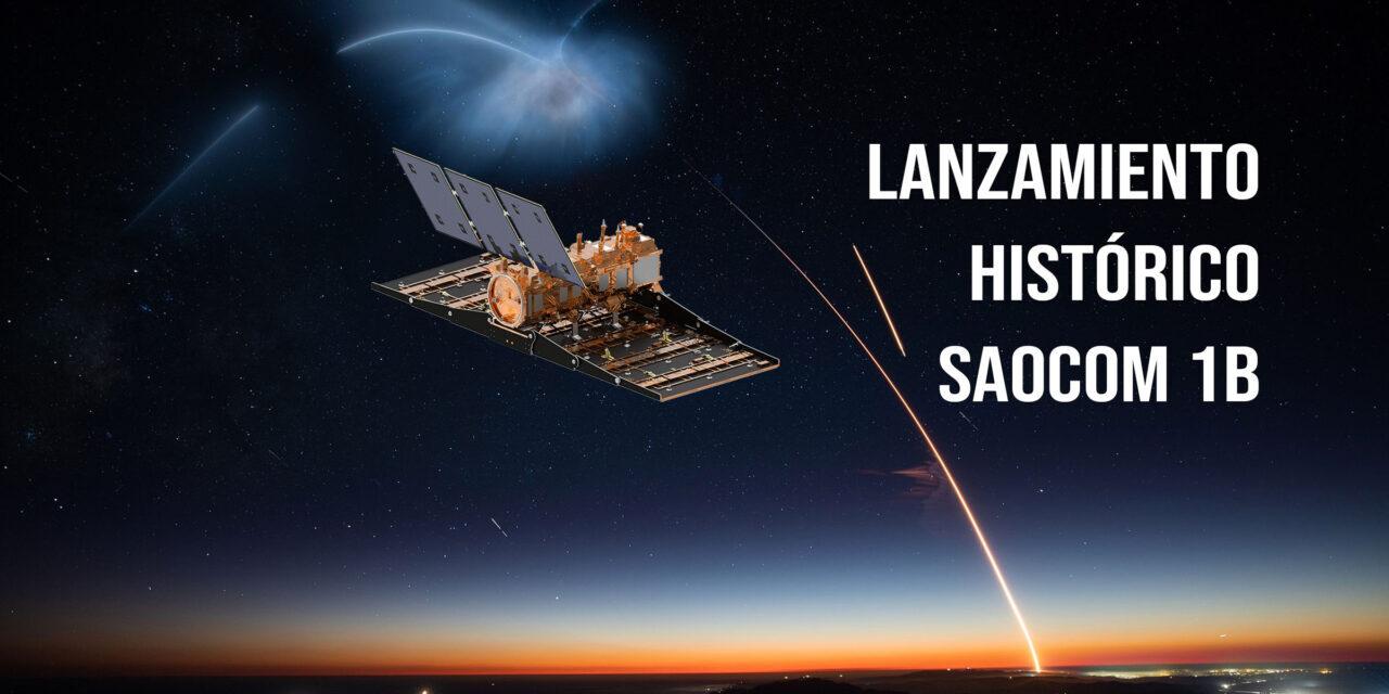 Saocom-1B, primer lanzamiento polar en 60 años desde cabo cañaveral