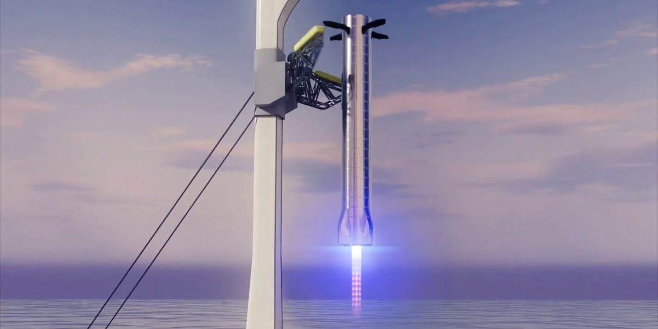 El plan de SpaceX para 'atrapar' el súper Heavy se menciona en un nuevo archivo de la FAA